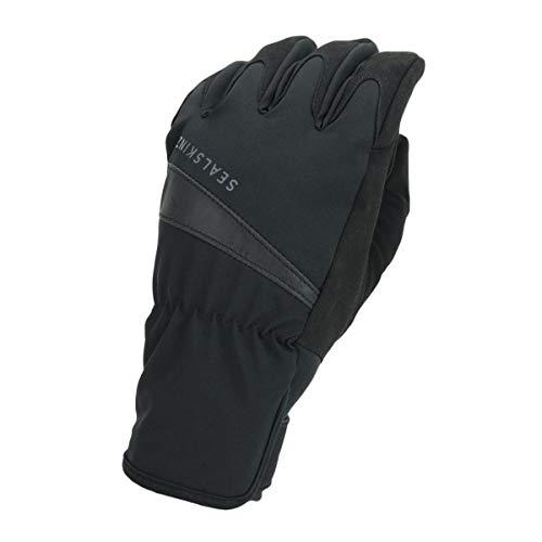 SEALSKINZ Glove Waterproof All Weather Cycle Glove, Black, M, 12100080000120