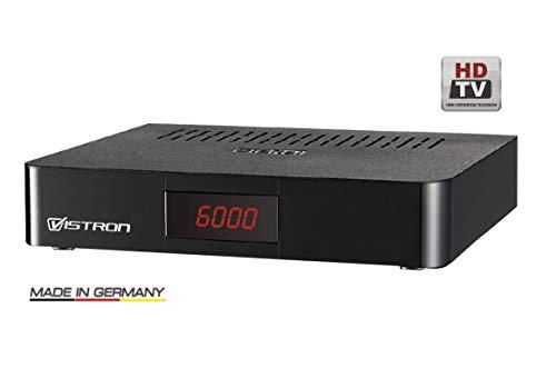 Vistron VT820 Digitaler HDTV- Kabelreceiver für alle Kabelnetze