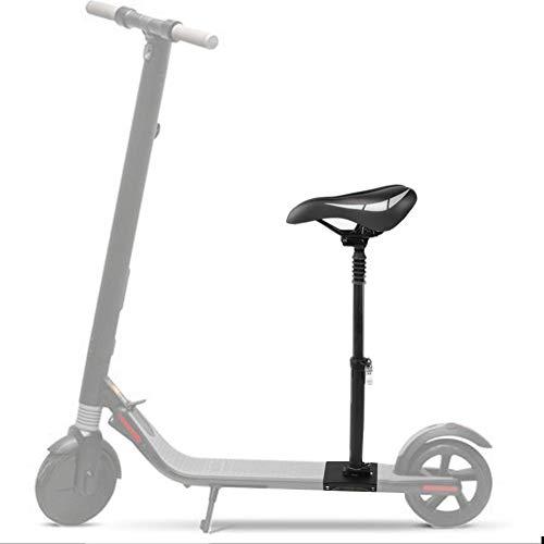 MAGT Elektrischer Skateboard-Sitz, Verstellbarer Sattelsitz Kompatibel mit Nineboot KickScooter ES1 ES2 ES3 ES4 Elektroroller-Zubehör