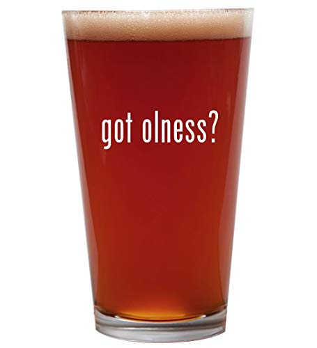got olness? - 16oz Beer Pint Glass Cup
