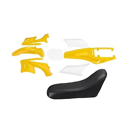 TANGLANGZ Rose Flower 8 stücke Kunststoffverkleidung Körper Kits Fit für 47 49cc Motor 2 Schlaganfall für Apollo Fit Für Orion Kids Schmutz Pocket Bike Minimoto Teile (Color : Red)