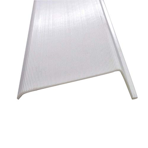 24' Inch Lens Diffuser Under Cabinet Replacement Cover White Ribbed (Please Check the Size is Correct Before Ordering) the Width is 2-7/8' the Height is 1' inch the Length is 24' See Photos