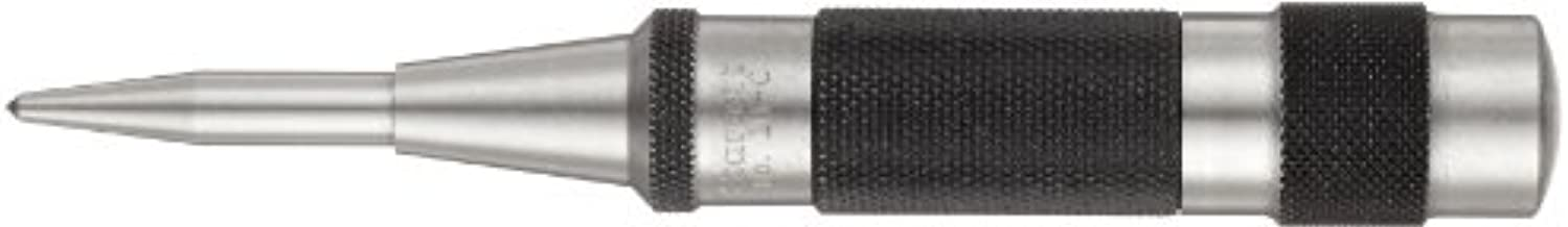 Starrett 18C Automatic Center Punch Heavy-Duty With Adjustable Stroke, 5-1/4