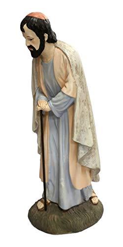 Ferrari & Arrighetti Statue presepe: San Giuseppe Linea Martino Landi per presepio da cm 50