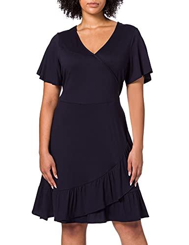 ESPRIT Damen 031EE1E333 Kleid, 400/NAVY, 44
