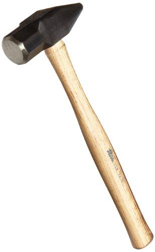 Martin 123G Carbon Steel 3lbs Cross Peen Engineer/Blacksmith Hand Hammer, 15-1/2' Overall Length