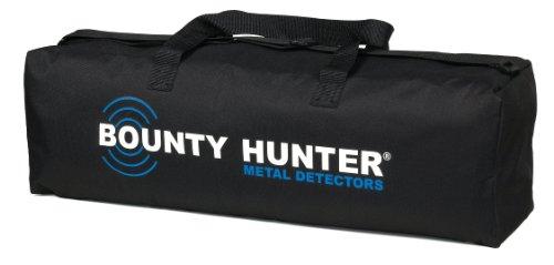 Bounty Hunter Metal Detector Metalldetektor-Tragetasche aus verstärktem Nylon mit Innen- und Außentaschen für alle Bounty Hunter Metalldetektoren, Schwarz
