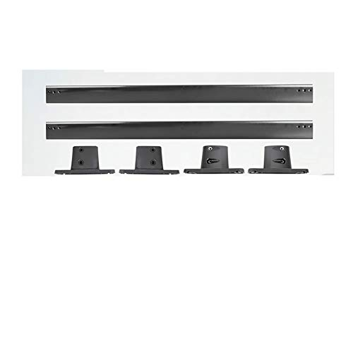 ADFIOADFH Accesorios para automóviles Coche Techo de Techo Par Par Estilo OE Estilo de Aluminio Techo Top Reemplazo de Barra Transversal/Ajuste para Nissan Pathfinder 2005-2012 (Color : Black)