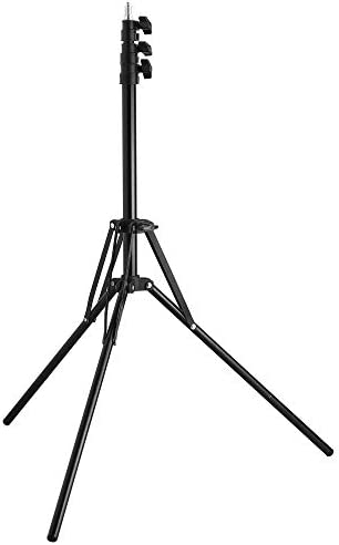 Riqiorod 7 Foot Light Stand with Reverse Folding Leg Compact Portable Photography Light Tripod product image