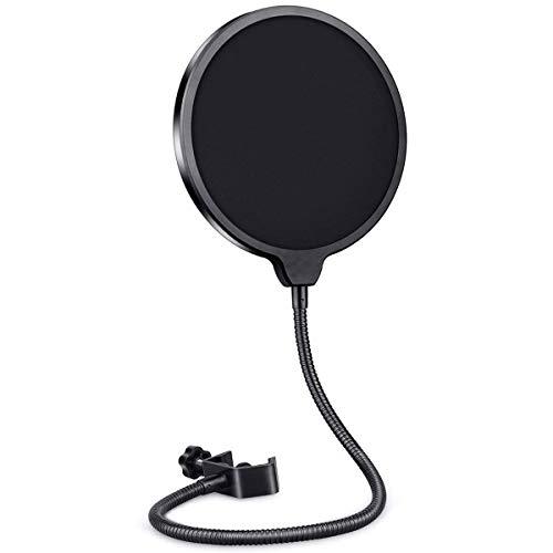 Filtro de micrófono pop, protector de...
