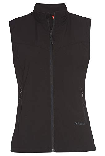 Vittorio Rossi Ladies Softshell Weste Black,48