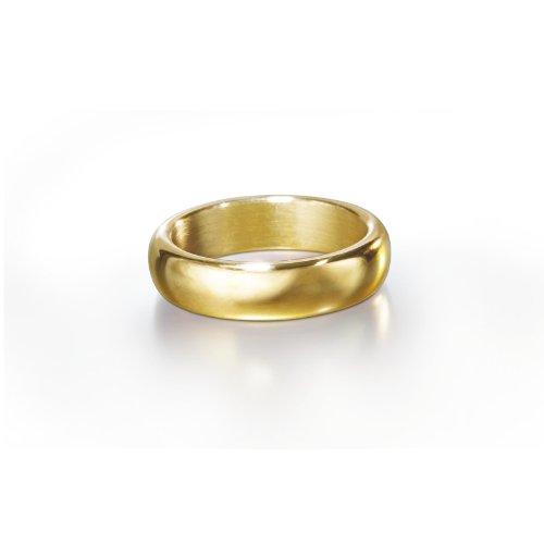 Der Hobbit - Der Eine Ring im Schmuckdisplay, Filmoriginal, Ring der Macht, Edelstahl vergoldet