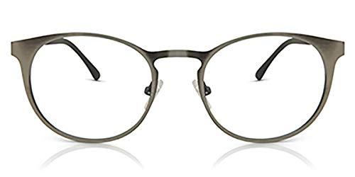 "Ultem & Metal THEMA 258 Color 008 Gris Mate Montura para gafas de vista + 4 CLIP-ON ""99 John St. NYC"" Género: unisex"