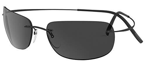 silhouette occhiali Occhiali da Sole Silhouette TMA MUST 8713 Black/Dark Grey taglia unica unisex