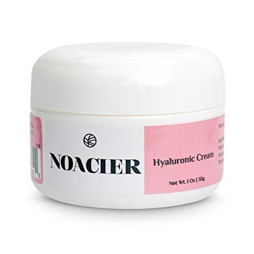 Noacier Hyaluronic Acid Face Cream, Anti-Aging, Wrinkle Free, Ultra-Hydrating Moisturizer for Dry Skin
