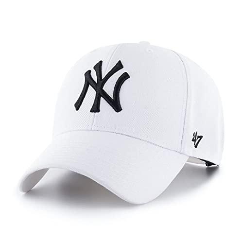 '47 York Yankees Snapback Cap MVP MLB White - One-Size