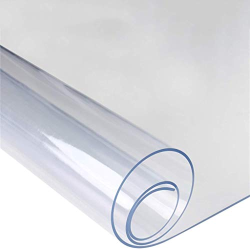 3.0 mm dik PVC Clear Desk Protector, Easy Clean Soft Glass Table Pads, waterdicht Table Protector for de eettafel als Bureau, op maat gemaakte Grootte (Size : 60 * 120CM)