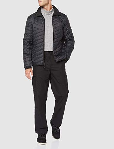 Schöffel Herren Ventloft Jacket Adamont2 wendbare Steppjacke mit flexibler ZipIn Funktion, leichte und wasserabweisende Übergangsjacke, black, 50 (L)
