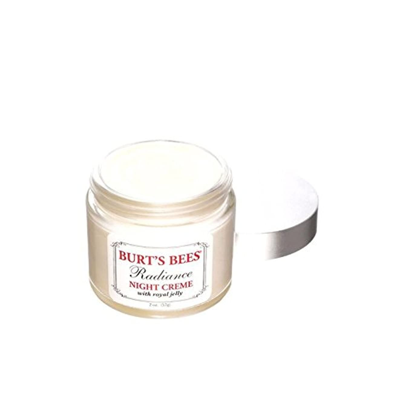 エアコン任意任意バーツビー輝きの夜のクリーム x4 - Burt's Bees Radiance Night Creme (Pack of 4) [並行輸入品]
