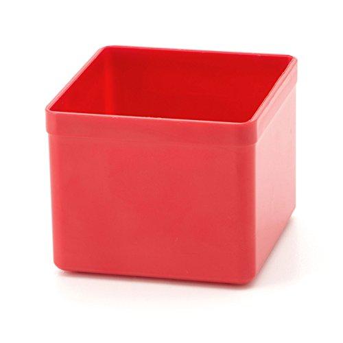 ALLIT Insatslåda Euro Plus röd storlek 1 54 x 54 x 45 mm