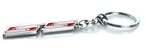 Aimoll 1pc Chrome Finish Super Sport SS Key Chain Fob Ring Keychain for Chevrolet Chevy (Chrome Red) 3 31zv8c8VscL. SL500