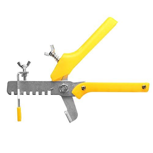 HYY-YY Sistema de nivelación de azulejos amarillo Espaciadores de azulejos Lippage Piso Tiling Nivelador Herramienta Espaciador Alicates Herramientas