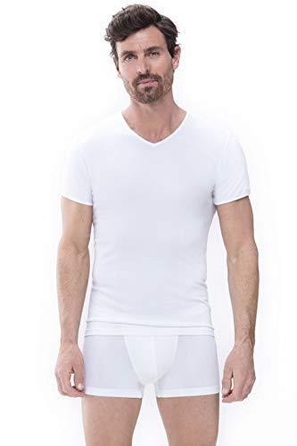 Mey Basics Serie Software Herren Shirts 1/2 Arm Weiß XL
