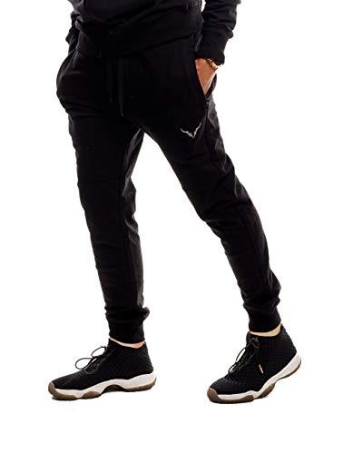 SCREENSHOT - Pantalones de Entrenamiento para Hombre (Ajustados) - Negro - XX-Large