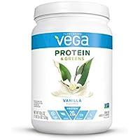 Vega Protein and Greens Plant Based Protein Powder, 2.6oz