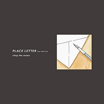 PLACE LETTER (feat. NeVGrN)