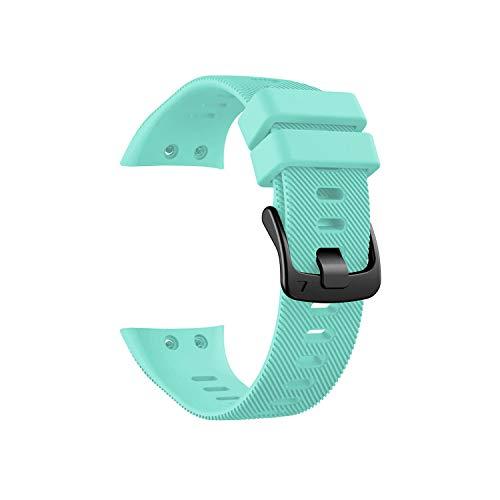 Correa Deportiva de Silicona para Garmin Forerunner 45 45S de 15 Colores, Correa de Reloj de 18 mm, con Destornillador, Color Verde