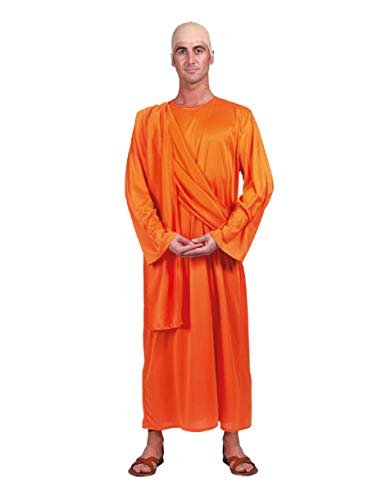 Disfraz de monje budista adulto - nica