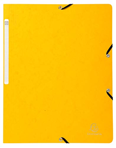 Exacompta 5510E Hoekspanmap geel