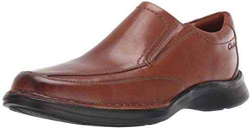 Clarks Men's Kempton Free Loafer, Tan Leather, 90 W US