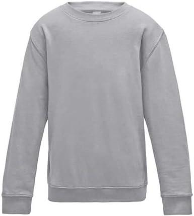 Hbno Sweat-shirt unisexe /à col rond pour gar/çons et filles