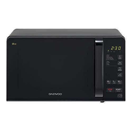 Daewoo KOR6M3RR Touch Control ECO Microwave, 800 W, 20 Litre, Black