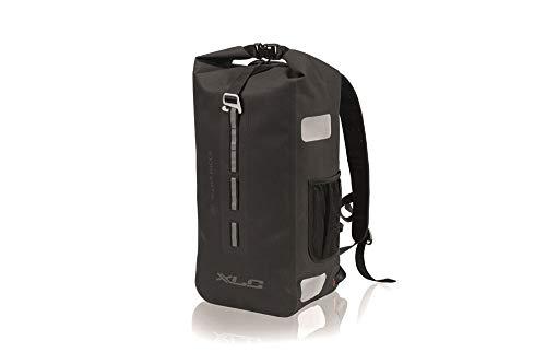 XLC Unisex– Erwachsene Pendlerrucksack wasserdicht Packtasche, schwarz, 1size