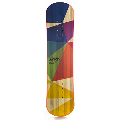 Switch Boards Trampoline Board + Jibbing Bar + Bindings