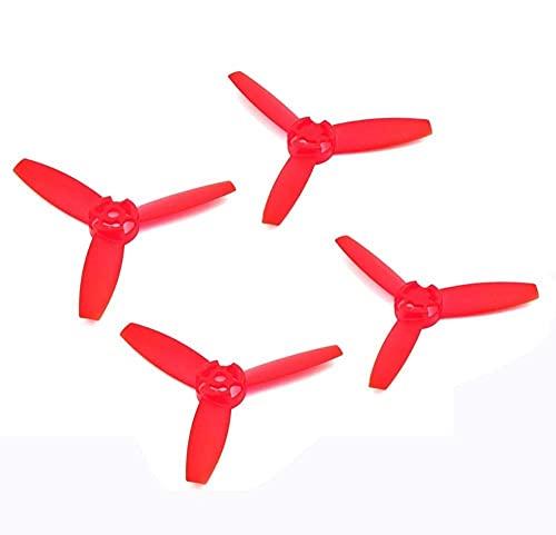 MZWNQ Accessori per Parti di droni 4PCS Eliche Lame Principali Rotori Puntelli Red Colorful Clover Paddle per Parrot Bebop Drone 3.0 (Color : 4PCS Black) ( Color : 4pcs Red )
