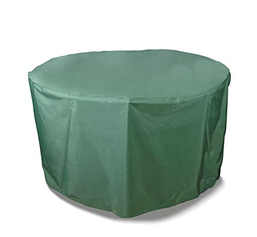 Bosmere Weatherproof Outdoor Round Table & Chairs Cover, 64' Diameter x 33' High, Green