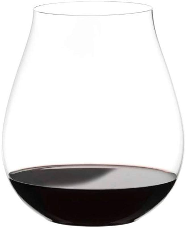 Riedel The Big O Crystal Pinot Noir Stemless Wine Tumbler Set Of 6