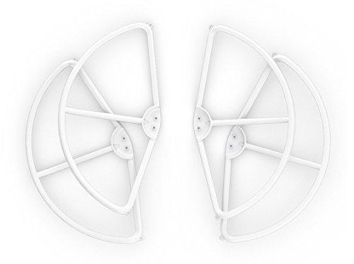 DJI Protectores del Propulsor Compatibles con DJI Phantom 1 Dron Cuadrocóptero con Antena UAV - Blancos (Juego de cuatro)