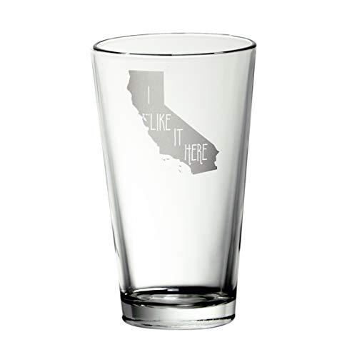 California I Like It Here Pint Glass