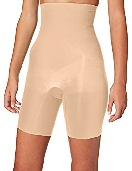 SPANX Shapewear for Women Tummy Control High-Waisted Power Short  Regular and Plus Size  Soft Nude SM