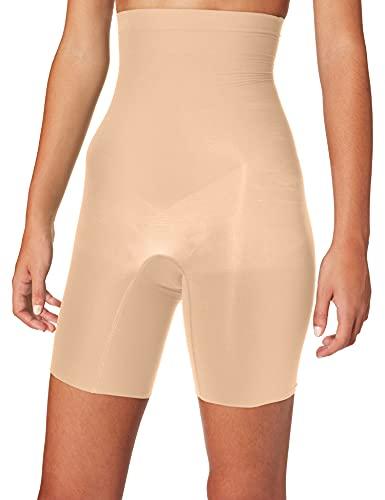 Spanx Damen Higher Power Miederhose, Beige (Soft Nude 000), 42 (Herstellergröße: L)