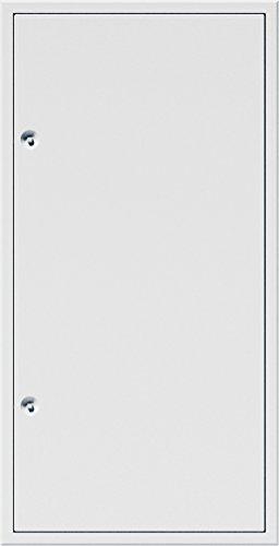 Upmann 22172 Revisionstür Z-Profil Primus Wand weiß 800x800 Vierkant