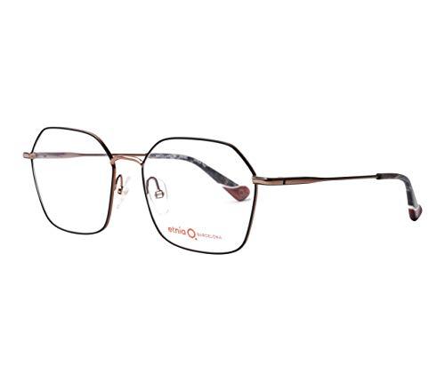 Etnia Barcelona Brille (BRICK LANE BKBZ) Metall schwarz matt - roségold