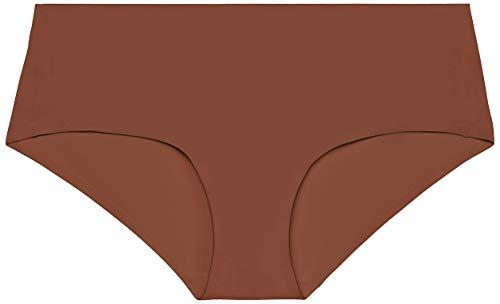 Savage X Fenty Microfiber Hipster, Braguita para Mujer, Marrón (Brown Sugar Nude), X-Small