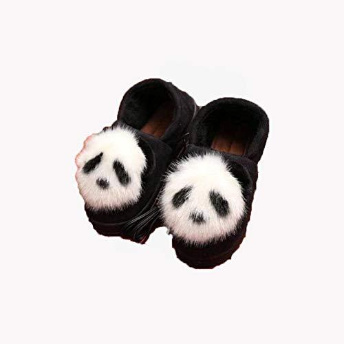 BDN Original Hoch Hausschuhe für Ofen & Mikrowelle,Warme Schuhe für Winterfrauen Student USB-Heizschuhe warme Füße Haushaltsheizung Baumwollpantoffeln-Weiß_37-38 Meter