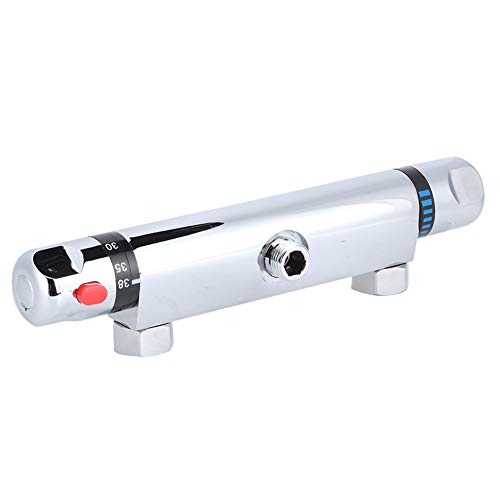 Barra de ducha termostática, válvula mezcladora termostática de latón, barra mezcladora termostática de ducha, válvula de repuesto, salida, accesorio de baño para el hogar